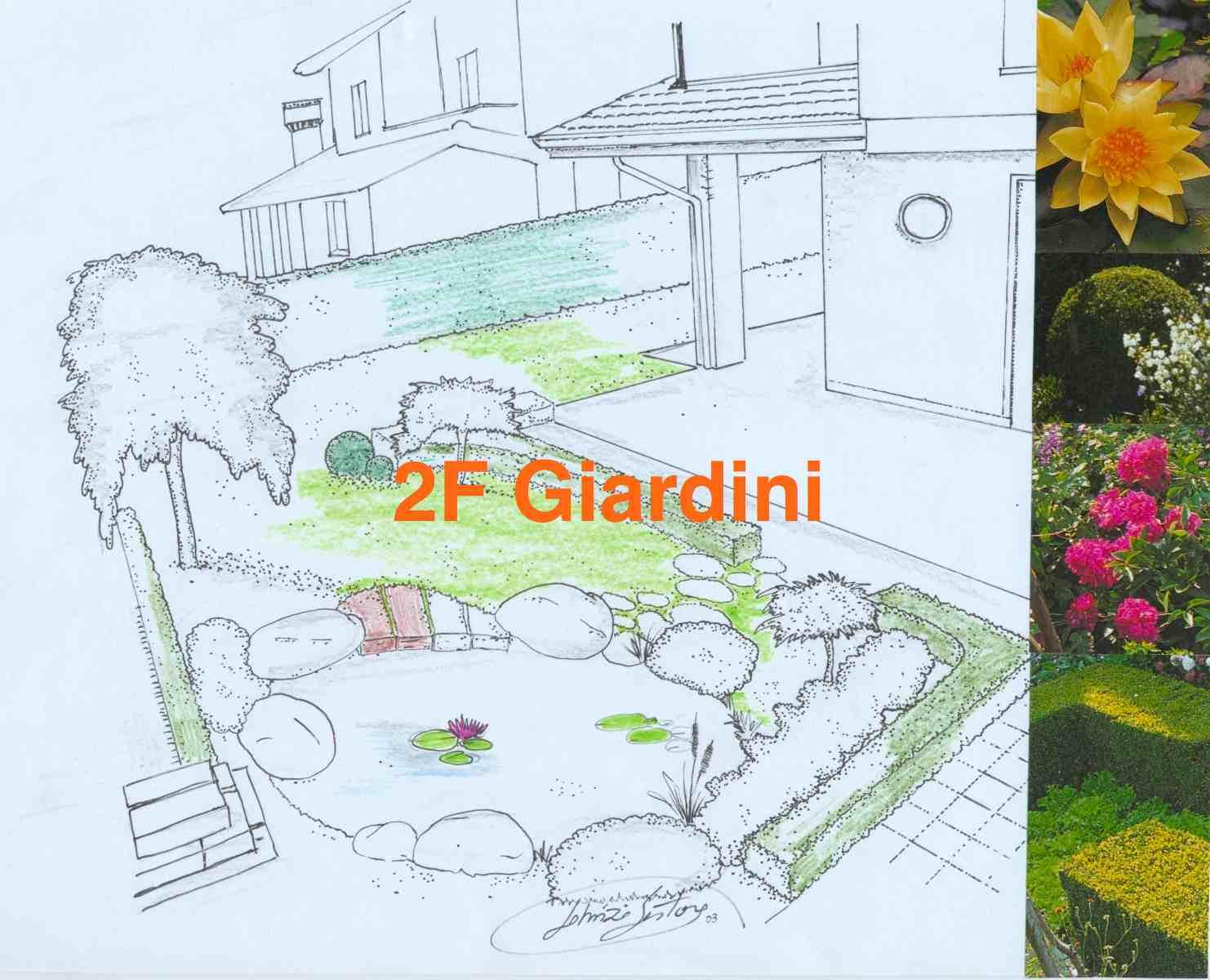 2f giardini progetti for Giardini progetti